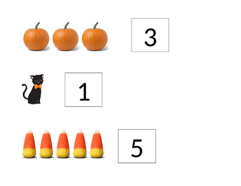 Counting Halloween Items