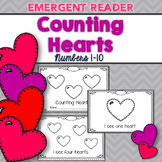 Valentine's Day Emergent Reader (Counting Hearts)