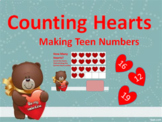 Counting Hearts Google Slides Lesson