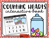 Counting Hearts Interactive Book