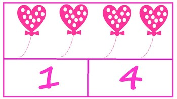 Counting Hearts Valentine's Day