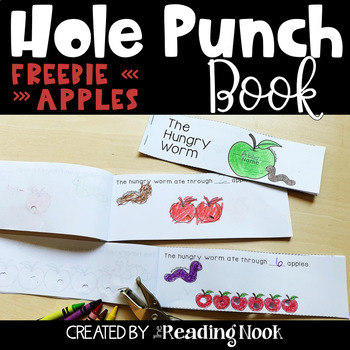 Counting Hole Punch Books FREE