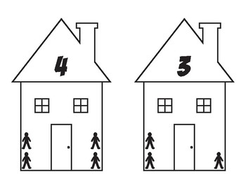 Counting Houses 1-10