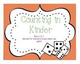 Counting In Kindergarten: CCSS K.CC.4