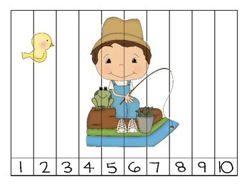 Counting In the Pond Puzzles