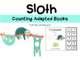 Let's Count: Adapted Books - SLOTH