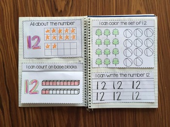 Counting Interactive Notebook