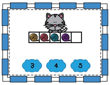Counting Interactive Power Point (Cat Theme)