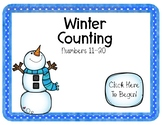 Interactive Power Point- Counting Winter Theme