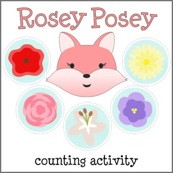 Counting Introduction Activity / Lesson for Preschool feat. Rosey Posey