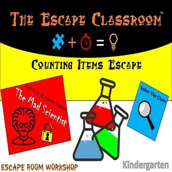 Counting Items Escape | The Escape Classroom