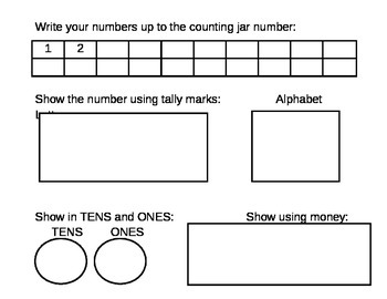 Counting Jar-20