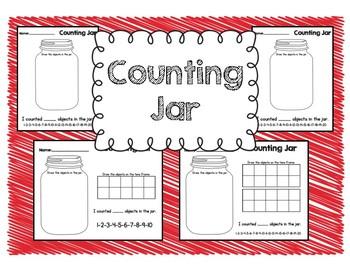 Counting Jar Printables