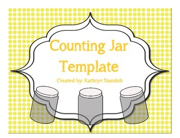 Counting Jar Template