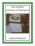 Counting Jar for Kindergarten