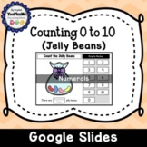 Counting Jelly Beans (0 to 10) - Numerals (Free)