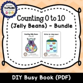 Counting Jelly Beans DIY Interactive Books