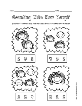 Counting Kids: How Many?