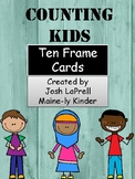 Counting Kids Ten Frame Center