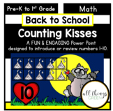 Counting Kisses {Back to School Math Power Point}