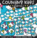 Counting Kites Clipart