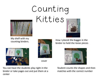 Interactive Counting Kitties Notebook