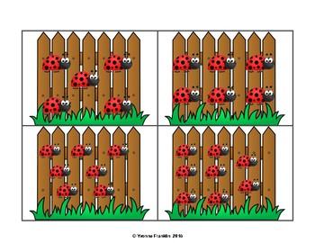 Counting Ladybugs 0-10