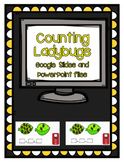Counting Ladybugs- Activity for Google Slides or PowerPoint