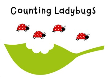 Interactive Counting Ladybugs Notebook