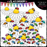 (0-10) Counting Ladybugs Clip Art - Counting & Math Clip A