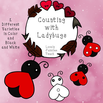 Counting Ladybugs Clip art