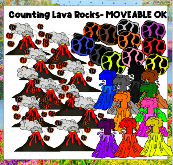 Counting Lava Rocks (scribble clips)