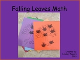 Falling Leaves Math 0-10