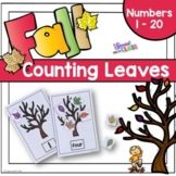 Fall Counting Leaves to 20