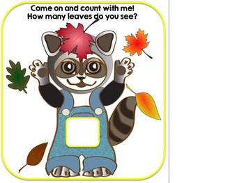 Counting Leaves- An Adapted Fall Counting Book {Autism, Early Childhood, SPED}