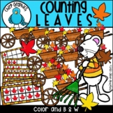 Counting Leaves Clip Art Set