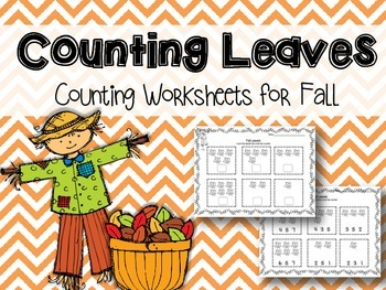 Counting Leaves {Numbers 1-6}