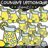 Counting Lemonade {lemonade clipart}