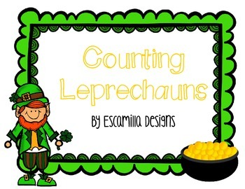 Counting Leprechauns (1-20) Math Center