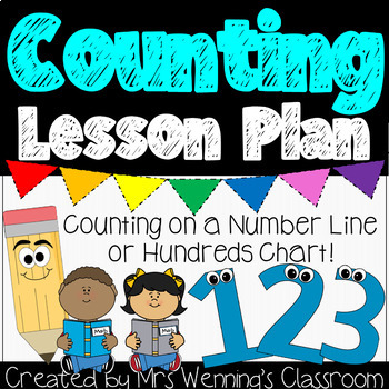 Counting Lesson Plan (counting on a number line or hundred