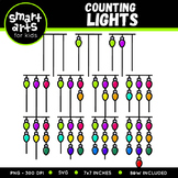 Counting Lights Clip Art
