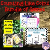 Counting Like Coins Bundle of Games