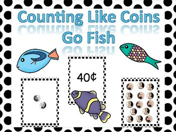 Counting Like Coins Go Fish