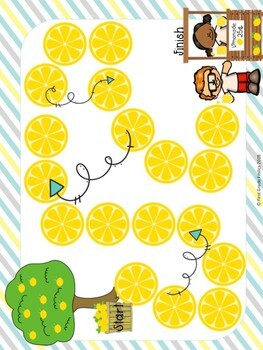 Counting Like Coins Lemonade Stand Game
