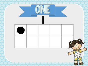 Counting Line Posters: Sunny Days Classroom Decor