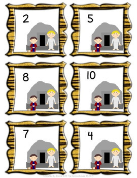 Counting Lions with Daniel Game Mats