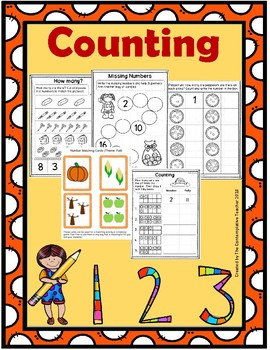 Counting Low Prep Printables