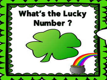 Counting Lucky Shamrocks