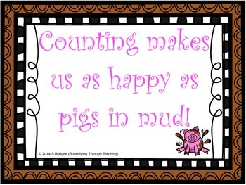 Counting Makes Us As Happy As Pigs In Mud!