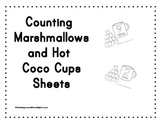 Counting Marshmallows and Hot Coco Cups Sheets By AL4F